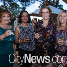 Sue Hayes, Raina Sinha, Robyn Geering and Sonya Amey