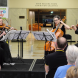 The Arcacia Quartet performing at the National Library. Photo by Peter Hislop