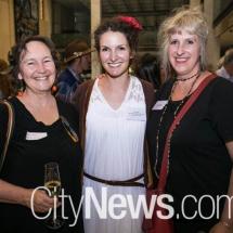 Ann McMahon, Jayne Smith and Monika McInerney