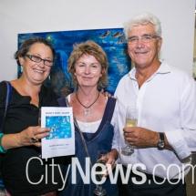 Anna Clancy, Pieta Morgan and Richard Garnett
