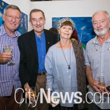 David Williams, Leon Paroissien, Bernice Murphy and Robert Boynes