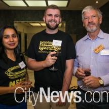 Manmeet Kaur, Mikey Smith and Graham Reynolds