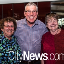 Maria and Richard Greene with Alanna Maclean