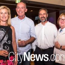 Penny Spoelder, Steve Mossfield, Roger Garland and Louise Douglas