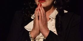 Amanda Muggleton plays Maria Callas, photo Kate Ferguson