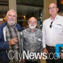 Seamus Gill, Graham Cruttenden and Owen Gardner