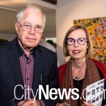 Bill Wood and Meredith Hinchliffe