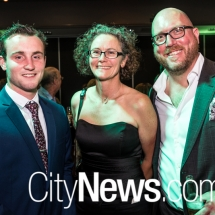 Brad Thomas, Sarah McCooey and Gavin Pound