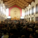 """The performance of the """"Saint Matthew Passion"""" at St Christopher's Cathedral."""