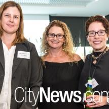 Christine Murray, Tanya Berlis and Rachael Wood