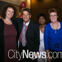 Cindy Treanor, Greg Burles, Krishnee Nair and Claire Manthorpe
