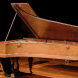 Japanese pianist Kotaro Nagano performing on one of the ANU School of Music's instruments from their Historic Keyboard Collection, an 1847 Pleyel – Chopin's preferred make of piano.  Photo by Peter Hislop