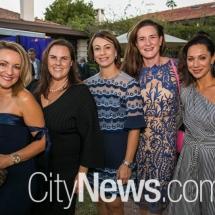 Helen Minglis, Elke Mackenzie, Sonia Strickland, Natasha Royal and Maria Tzoulias