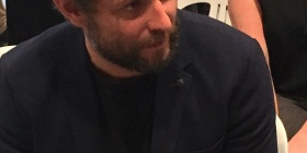 War artist Ben Quilty, adjudicator and mentor.