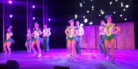Tap dancers at The Q