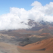 Haleakala Crater on Maui...  elevation is around 11000 feet and the summit can be reached by car. Photo by Chris Coleman