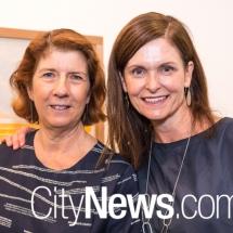 Julie Bradley and Rachael Coghlan