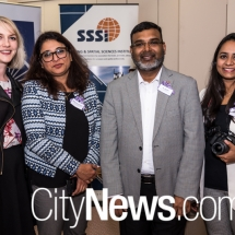 Katherine Green, Anna Palathinkal, Preeti Khare and Dr Zaffar Sadiq Mohamed-Ghouse