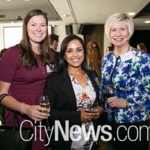 Madison Kennedy, Ishara Rupasinghe and Kathy Kostyrko