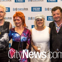 Martin and Sandra Fisk with Wendy and Ron Shepherd