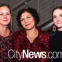Meryl Hinge, Hajar Gala and Zoe Hinge