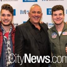 Ned Breward, Peter Munday and Josh Torney