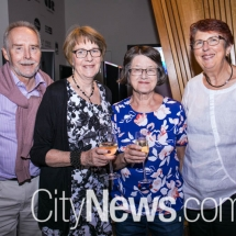 Norm and Lana Burmester, Robyn Teasdale and Susan Waters