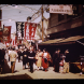 A slide from the original collection taken in Wholesalers Street Osaka. Circa mid-20th century