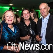 Rowena Abbey, Gabby Cusack and Warwick Bennett