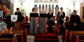 Adhoc Baroque's concert in Braidwood