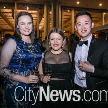Alana Tolman, Sarah Mack and Daniel Wang_