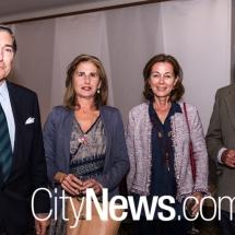 Ambassador Manuel Cacho, Elesa Narvaez, Maide Cacho and Carlos Arevalo