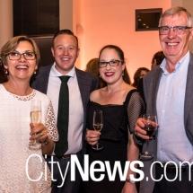Anne Loveridge, Chris and Rebecca Carpenter, and Bob Prosser