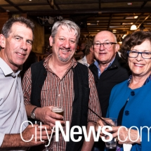 Greg Bayliss, PJ Williams, John Mackay and Colette Mackay