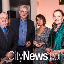 Ron Forrester, Peter Gordon, Deborah Hicks and Diana Forester