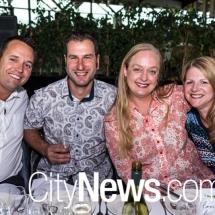 Stuart McLean, Travis Toscan, Michelle Toscan and Michelle Robertson