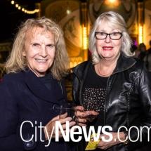 Sylvia Mackay and Carolyn Hush