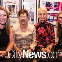 Zoe Cobden-Jewitt, Rosanna Hindmarsh, Pamela Walker and Debra Reinecke