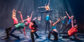 "Ballet Revolución… ""dazzlingly fast-paced, humorous and sizzlingly hot-blooded."""