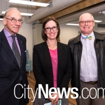 Bob Nattey, Victoria McGlade and Richard Kent