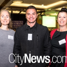 Claire Dunn, Billy Coombes and Tracey Henry