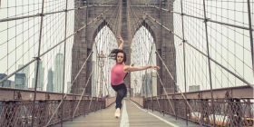"""Canberra native"" Emily Williams in New York… ""Moving to NYC was a huge step for me."" Photo by Julian Serna Photography"