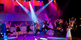"""Fame"" in full swing at The Q. Photo by Janelle McMenamin"