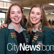 Kate Thompson and Hayley Coorey