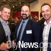 Martin Croker, Sean Jones and Dan Jackson