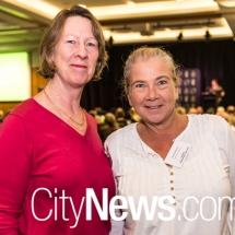 Meg Jepsen and Sandra McMullen