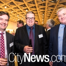 Paul Leahy, Clinton Monger and Steve McCauley