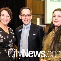 Ros Malouf, Geoffrey Rutledge and Emma Humphreys