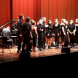 The ANU Jazz and Contemporary Vocal Ensemble perform as part of the Side by Side concert.