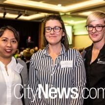 Suzette Chiu, Susan Foy and Hayley Bushell